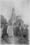 Kościół w Budach Łańcuckich - budowniczowie